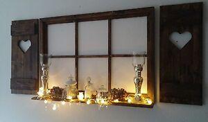 Esszimmer Dekoration Set : Unikat sprossenfenster set fensterläden deko esszimmer foto
