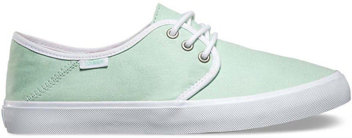 Vans Off the Wall Tazie SF Gossamer Green WEISS Damenschuhe Ankle Stiefel 9.5 Schuhes