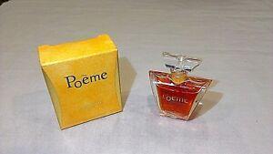 Detalles Acerca De Lancome Poeme Woman Donna Femme Eau De Parfum Miniatura Mignon 4 Mlvintage Rare