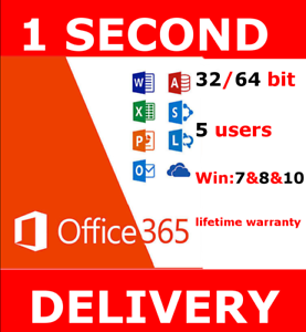 INSTANT-DELIVERY-Microsoft-Office-365-2016-2019-Pro-Key-PC-Mac-5TB-User-Lifetime