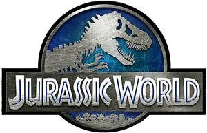 Jurassic World Decal Vinyl Wall Logo Jeep Safari Dinosaur