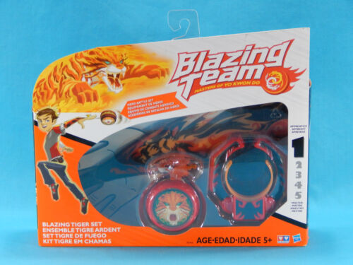 Blazing Team Yo-Yo Masters of Yo Kwon Do Blazing Tiger Set New Sealed