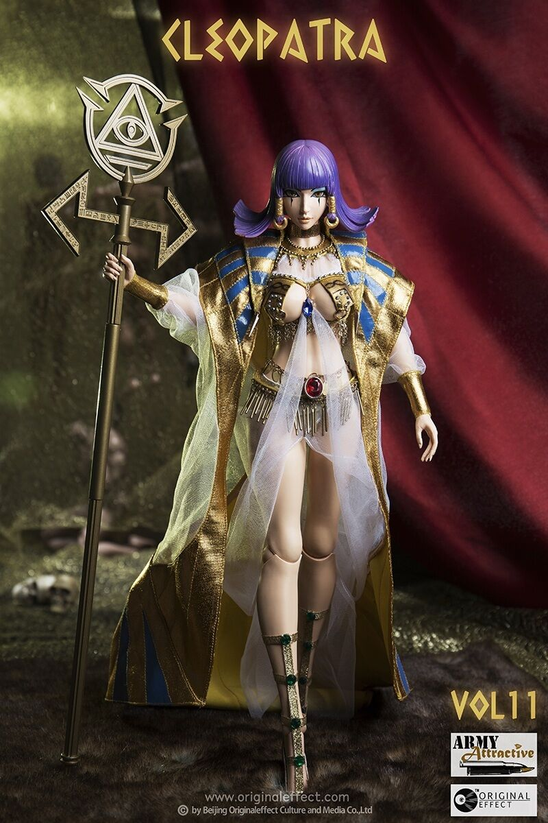 Original effect OE Army Attractive series- Vol.11 Cleopatra 1 6 Figure IN STOCK
