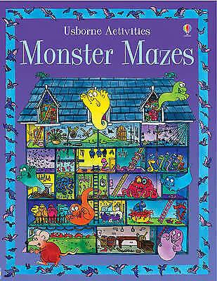 Very Good, Monster Mazes (Activity Books), Blundell, Kim, Book