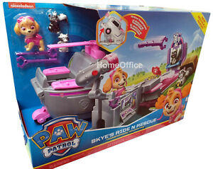 Paw-Patrol-Skye-Ride-N-Rescue-Transforming-Helicopter-Vehicle-Set