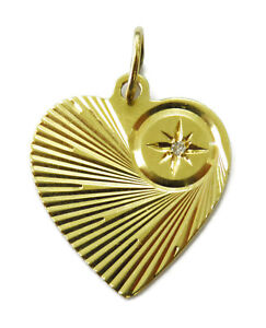 14K-Yellow-Gold-Heart-Charm-Necklace-Pendant-with-Diamond-1-4g