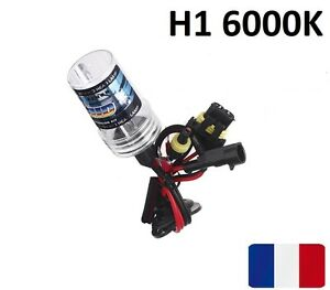 ampoule de rechange pour kit hid xenon h1 6000k 35w lampe feu phare bulb voiture ebay. Black Bedroom Furniture Sets. Home Design Ideas