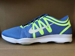 d67a7576aa178 NIKE WOMEN S AIR ZOOM FIT 2 SHOES SIZE 11 blue white green 819672 ...