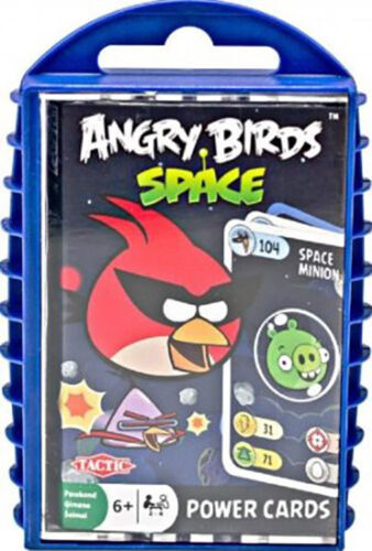 Pigs Stocking Stuffer Angry Birds Space Power Cards Game by Tactic NEW Birds Vs