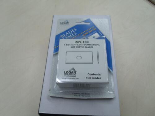 Logan 269-100 replacement blades Free P /&P