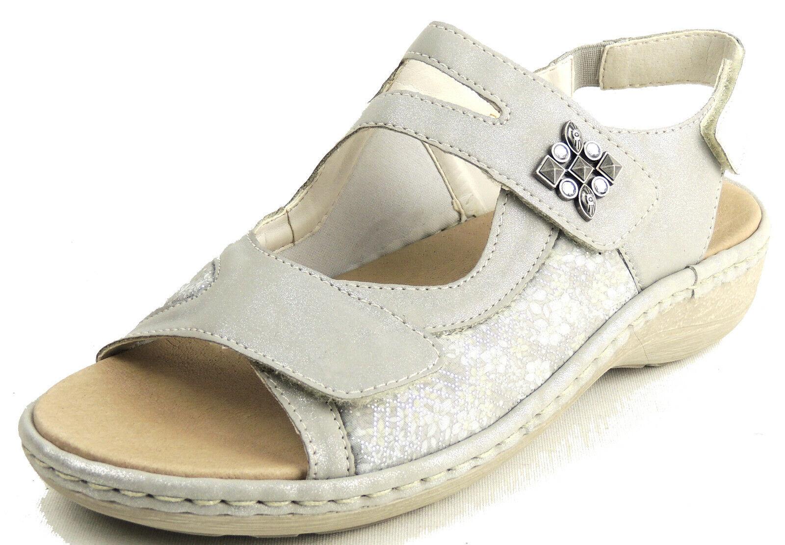 geeignet statt STRETCHEINSATZ Einlagen KLETT Sandale Damen