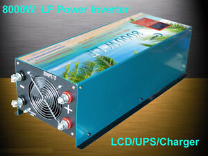 Home & Garden Well-Educated 32000w/8000w Lf Split Phase 12v Dc/110v,220v Ac 60hz Power Inverter 110v Charger Electrical & Solar