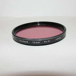 Used-Telesar-FL-D-72mm-Lens-Filter-Made-in-Japan-O30716