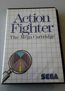 Jeu-SEGA-MASTER-SYSTEM-034-Action-Fighter-The-Mega-Cartridge-034-complet-N-5152