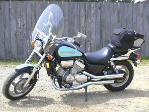 "Honda VTX1800 VTX 1800 N//C//S//R//F Clear 22/""Touring Windshield w//chrome hardware"