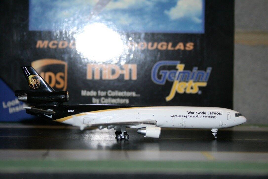 Gemini Jets 1 400 UPS Mcdonnell Douglas MD-11F N275UP (GJUPS379F) Model Plane