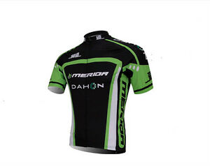 MERIDA-Dahon-Men-039-s-Green-Cycling-Clothes-MTB-Bike-Bicycle-Biking-Jerseys-S-5XL