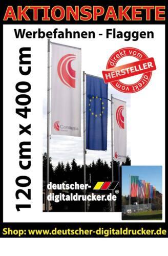 Fahnen 120 x 400 cm Fahnen drucken Berlin Werbe fahne bedrucken