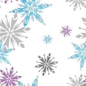 EUR-2-90-qm-Eiskoenigin-Tapete-Frozen-Anna-amp-Elsa-Snowflake-Multi-70-541