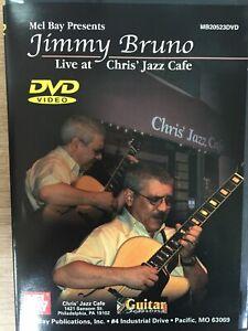 JIMMY-BRUNO-Live-At-Chris-039-Jazz-Cafe-Vol-1-DVD-Mel-Bay-AS-NEW