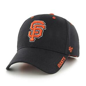 factory price 9d9d6 7776b Image is loading San-Francisco-Giants-47-Brand-Frost-MVP-Adjustable-