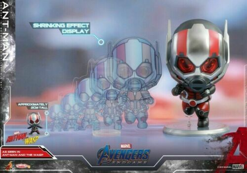 Hot Toys Cosbaby Avengers End-game Bobble-Head Ant-Man Model COSB567 Figure