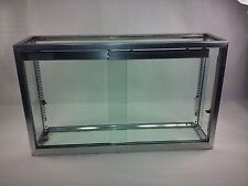 Glass Display Case No Base Counter Top General Store Jewelry Collectibles 201010
