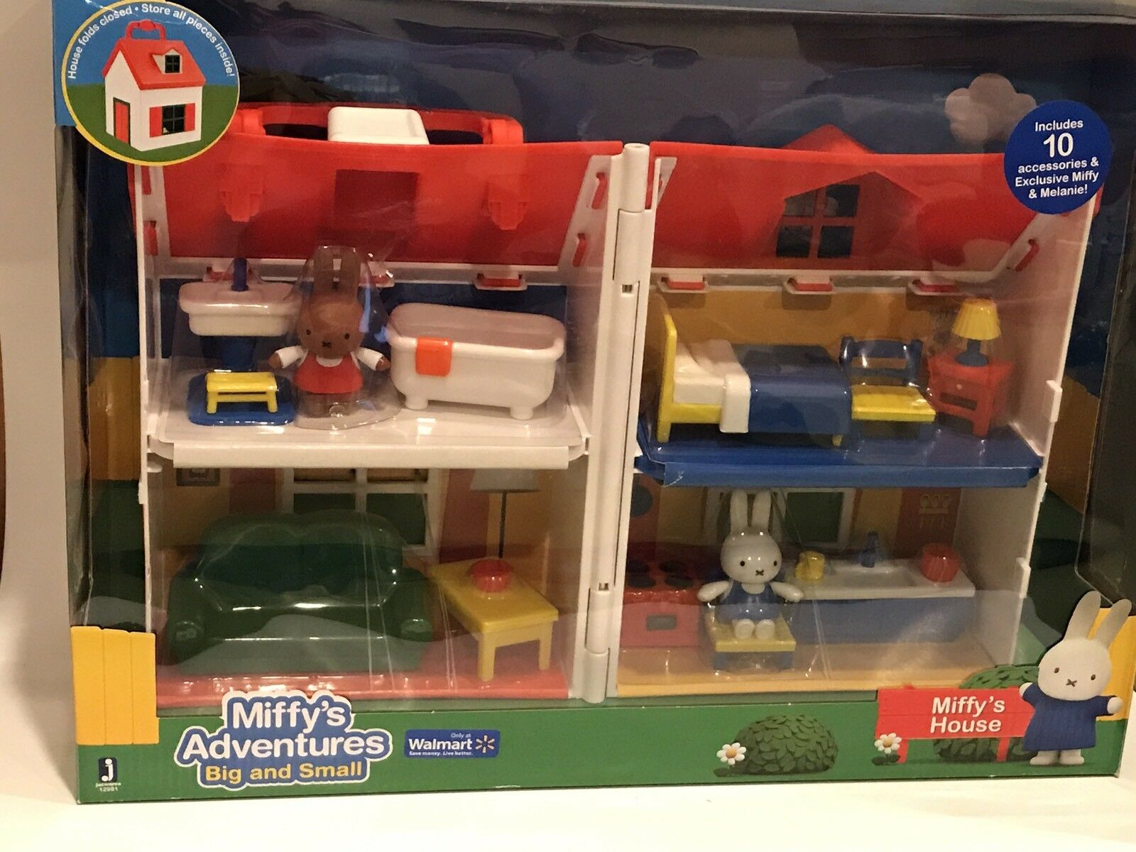 NIB MIFFY'S HOUSE Playset Adventures Big & Small Furniture Melanie Figures Set