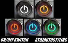 SAVAGE push button ON / OFF INTERRUTTORE 12V AD AGGANCIO LED KIT AUTO << 5 colori >>