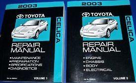 image is loading 2003-toyota-celica-service-repair-shop-workshop-manual-