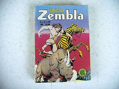Bd - Zembla Album N° 28 Reliant N° 83 0 85 - 1985 édition Lug Fijn Vakmanschap