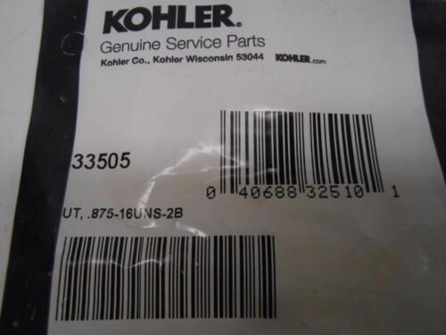 KOHLER Nut 33505