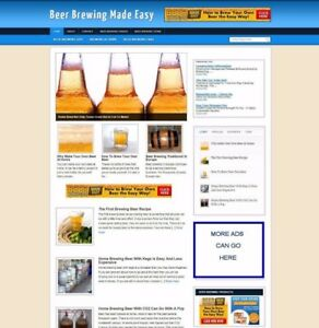 HOME-BEER-BREWING-BLOG-amp-WEBSITE-FOR-SALE-UK-AFFILIATE-STORE-FREE-DOMAIN