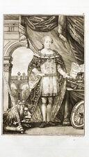 1824 Michaelsorden Maximilian III. Joseph (Bayern) Kupferstich Schleich