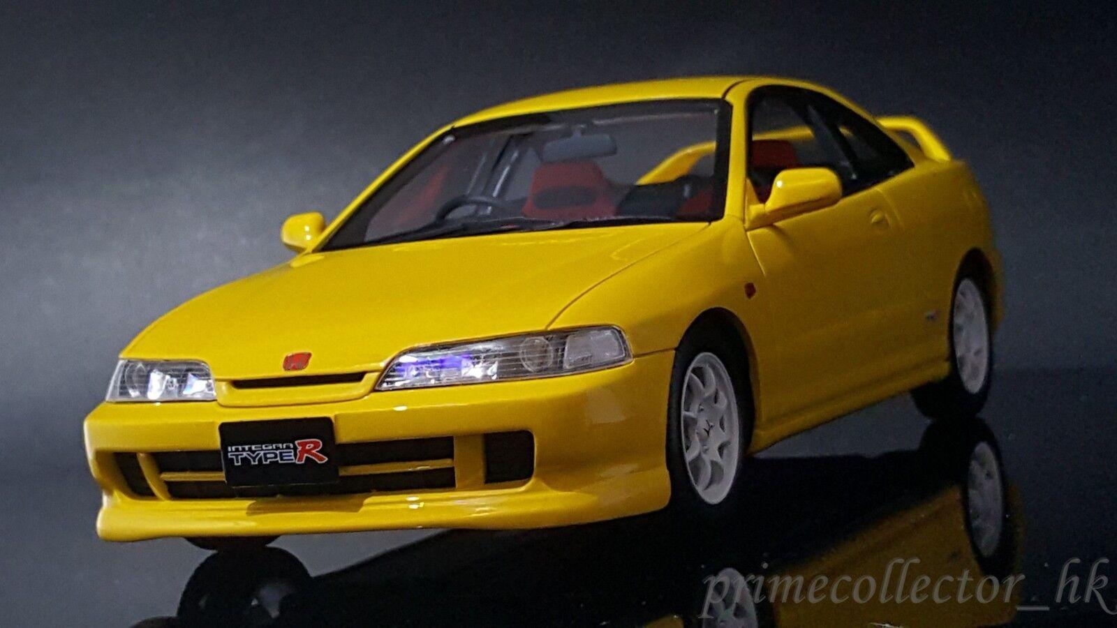 Kyosho Otto OTM717 1 18 Honda Acura Integra DC2 Type R. giallo. Asia Exclusive