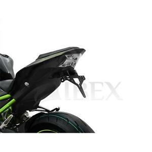Kawasaki-Z-900-ab-BJ-2017-19-Kennzeichenhalter-Kennzeichtraeger-kurzes-Heck-IBEX