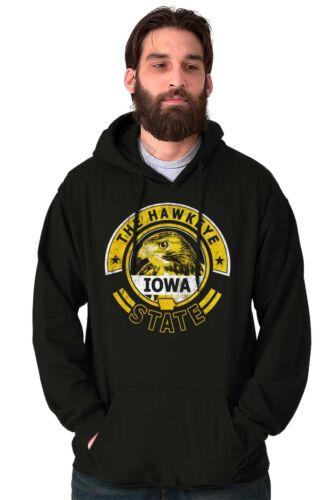 Iowa The Hawkeye State Student Team Game Uniform Souvenir Hooded Sweatshirt