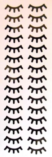 Unicorn Lashes Eyelashes Stickers 5 15 30 60 120 Pairs Ideal for Baubles Craft A