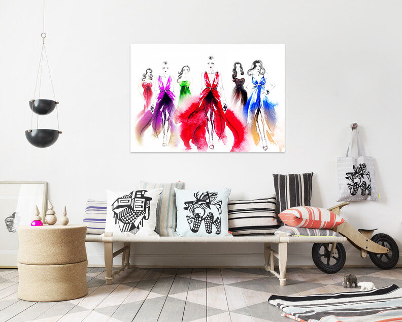 3D Kleid Girl 589 Fototapeten Wandbild BildTapete AJSTORE DE Lemon