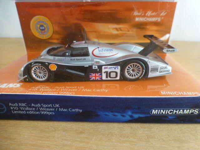 AUDI R8C n 10 Le Mans 1999 100 ans ACO MINICHAMPS 1/43
