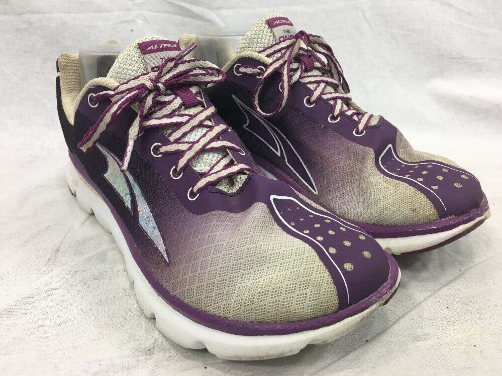 Altra The One 2 Zero Drop Athletic Running shoes Sneakers Purple White Womens 6.5
