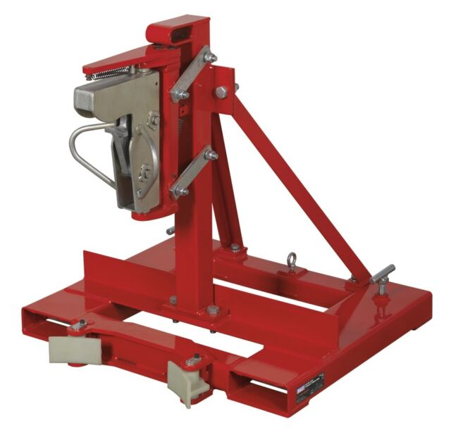 Sealey Gator Grip Forklift Drum Grab 400kg Capacity DG06