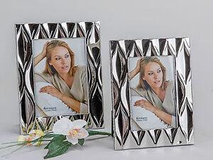 Fotorahmen Portraitrahmen Welle silber glänzend erhältlich ...
