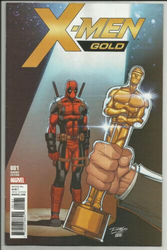 X-Men Gold #1 Ron Lim Variant Deadpool Oscar Controversial Syaf Marvel 2017