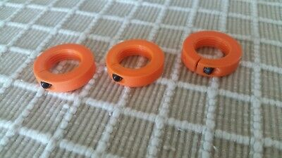 RCBS Hornady Reloading Die Lock Rings set of 3 compatible with Lee