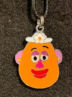 Kitsch Kawaii Enamel Glitter Charm necklace Toy Story Mr Potato Head