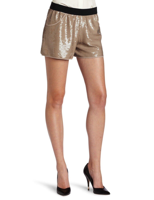 NEW BCBG MAXAZRIA Carter Soychai Combo Sequin EBY7B697 P80 Shorts SIZE S