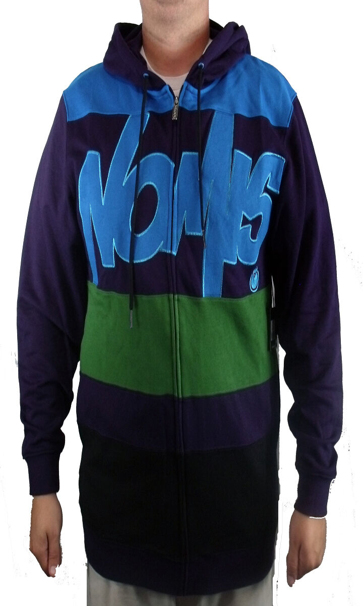 BRAND NEW WITH TAGS Nomis TONY Hoodie Dark lila XLARGE XLARGE TALL (XLT) RARE