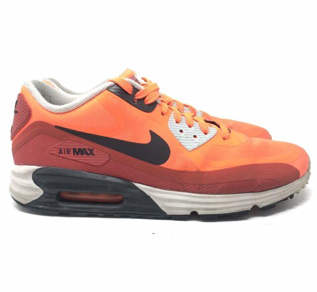 Nike Air Max Lunar 90 Men Sports Shoes Red Black ,NIKE