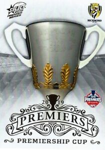 Mint-2019-RICHMOND-TIGERS-AFL-Premiers-Card-PREMIERSHIP-CUP-25-of-25